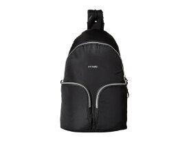 パックセーフ レディース バックパック・リュックサック バッグ Stylesafe Anti-Theft Convertible Sling to Backpack Black