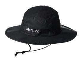 マーモット メンズ 帽子 アクセサリー PreCip Eco Safari Hat Black