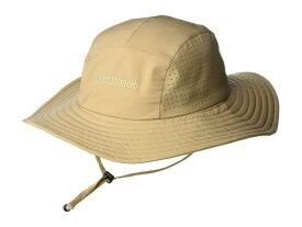 マーモット メンズ 帽子 アクセサリー Breeze Hat Desert Khaki