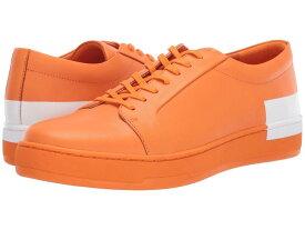 カルバンクライン メンズ スニーカー シューズ Nemi Orange Nappa Smooth Calf/Logo Over Print
