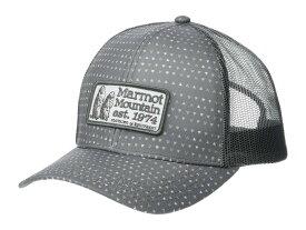 マーモット メンズ 帽子 アクセサリー Marmot Angles Trucker Grey Storm