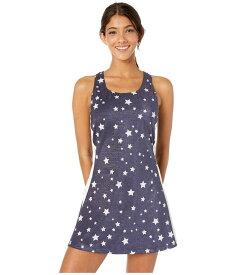 フィラ レディース ワンピース トップス Heritage Star Dress Navy Star Print/White/Red