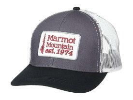 マーモット メンズ 帽子 アクセサリー Retro Trucker Hat Dark Steel/Black
