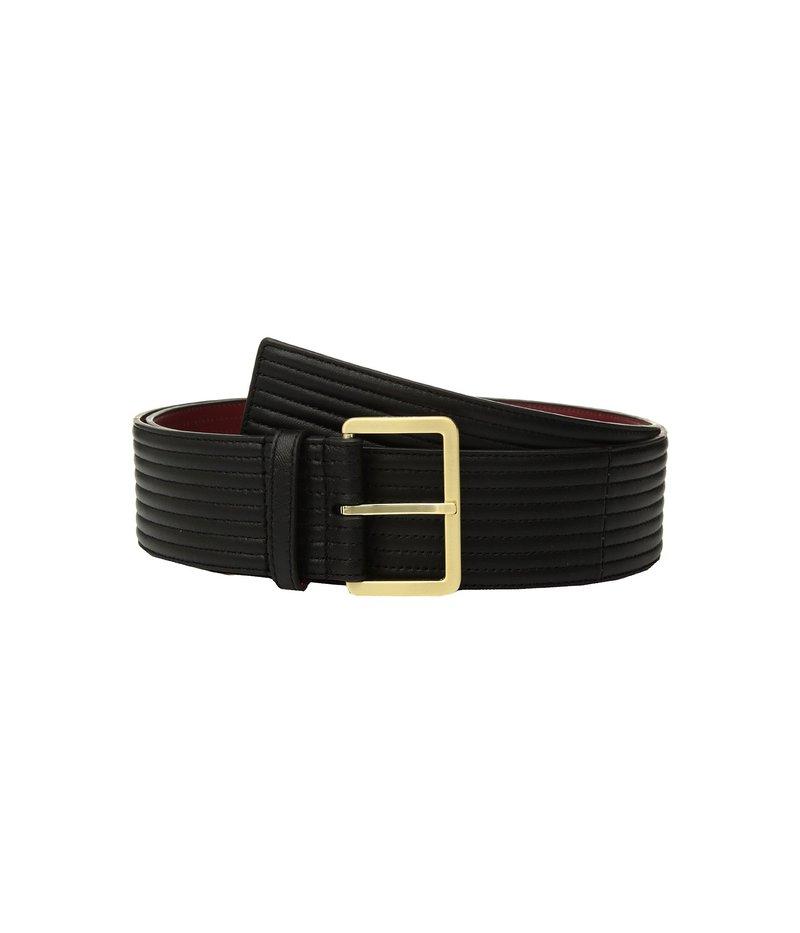 カルバンクライン レディース ベルト アクセサリー Padded Belt w/ Eyelets Black