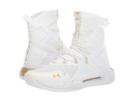 アンダーアーマー レディース スニーカー シューズ UA Highlight Ace 2.0 White/White/Metallic Gold