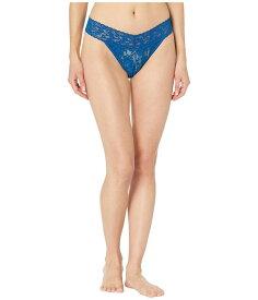 ハンキーパンキー レディース パンツ アンダーウェア Signature Lace Original Rise Thong Oxford Blue