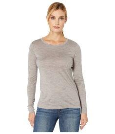 ペンドルトン レディース シャツ トップス Long Sleeve Merino Tee Soft Grey Heather