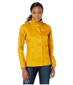 マーモット レディース コート アウター PreCip Eco Jacket Yellow Gold
