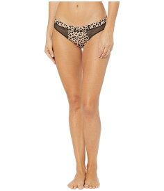 ダナキャラン レディース パンツ アンダーウェア Satin Bikini Leopard Print