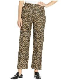 リーバイス レディース デニムパンツ ボトムス Ribcage Straight Ankle Gehu Leopard Co