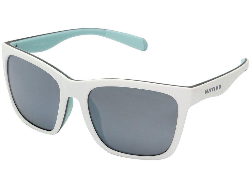 ネイティブアイウェア メンズ サングラス・アイウェア アクセサリー Braiden Matte White/Gray/Mint