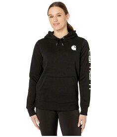 カーハート レディース パーカー・スウェット アウター Clarksburg Pullover Sweatshirt Black