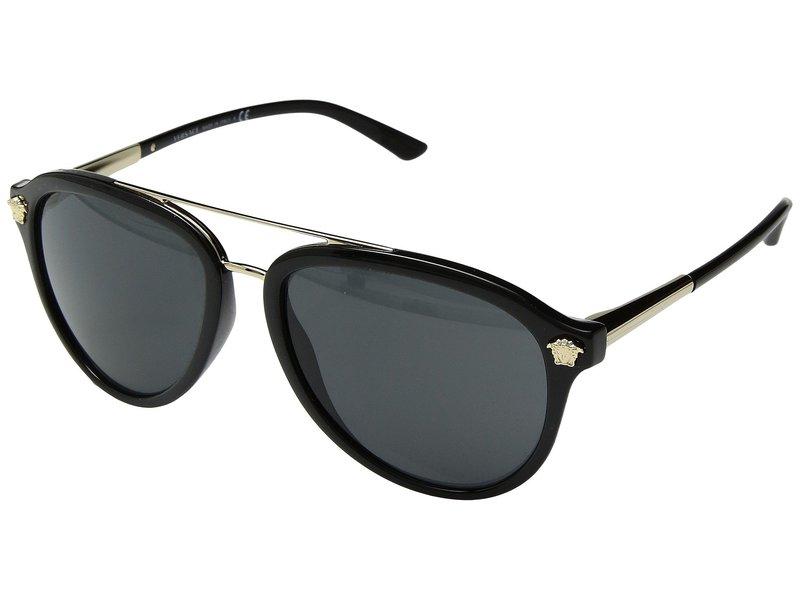 ヴェルサーチ メンズ サングラス・アイウェア アクセサリー VE4341 Black/Grey