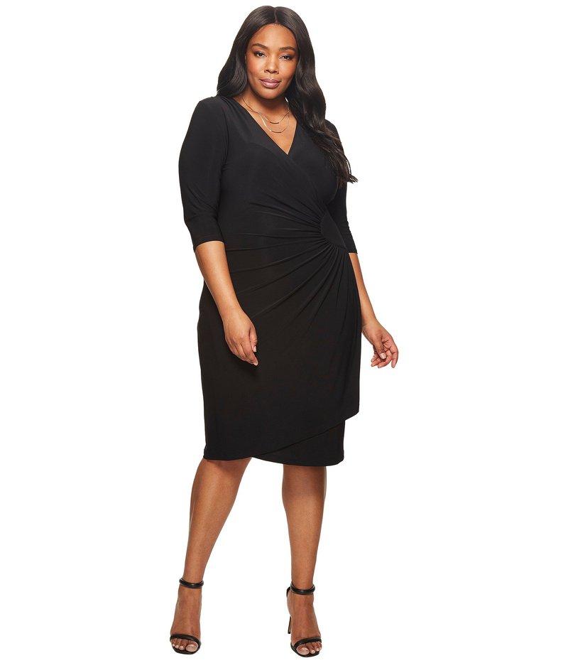 キヨナ レディース ワンピース トップス Ciara Cinch Dress Black Noir