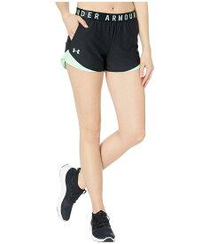アンダーアーマー レディース ハーフパンツ・ショーツ ボトムス Play Up Shorts 3.0 Black/Green Haz