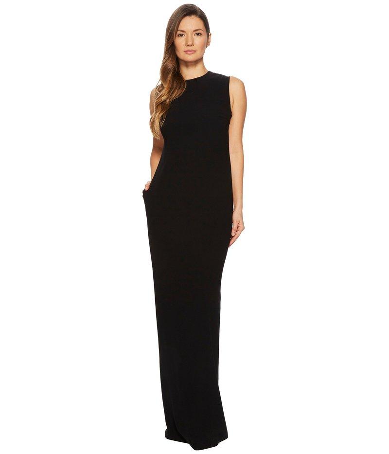 エスカーダ レディース ワンピース トップス Gsanna Sleeveless Gown Black