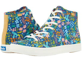 ケッズ レディース スニーカー シューズ Keds x Rifle Paper Co. Kickstart Hi Meadow Navy Multi Prin
