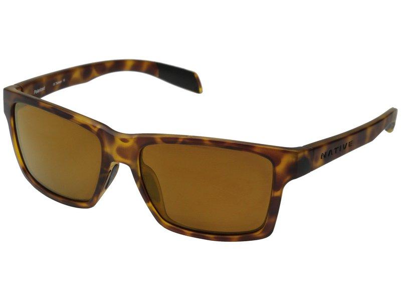 ネイティブアイウェア メンズ サングラス・アイウェア アクセサリー Flatirons Tigers Eye/Bronze Reflex