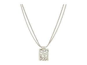 ブライトン レディース ネックレス・チョーカー・ペンダントトップ アクセサリー Deco Lace Necklace Silver