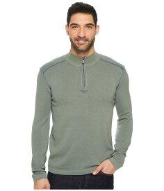 エコース メンズ ニット・セーター アウター Noah Zip Neck Sweater Agave Green