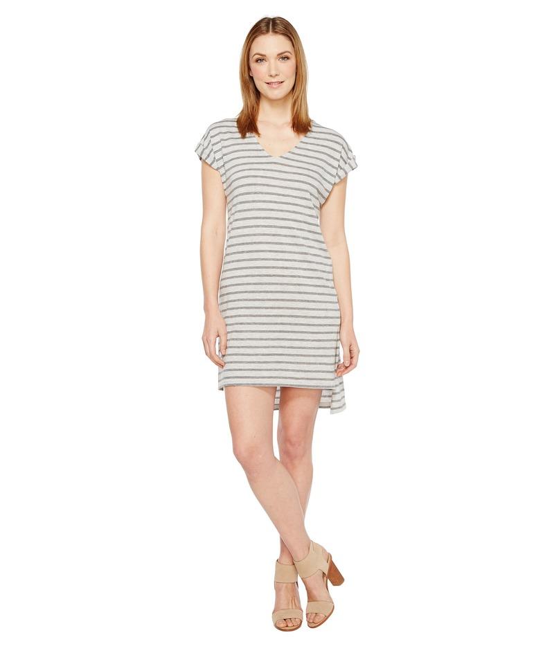 オルタナティヴ レディース ワンピース トップス Eco Jersey Yarn Dye Stripe Escapade Dress Eco Grey Riviera Stripe