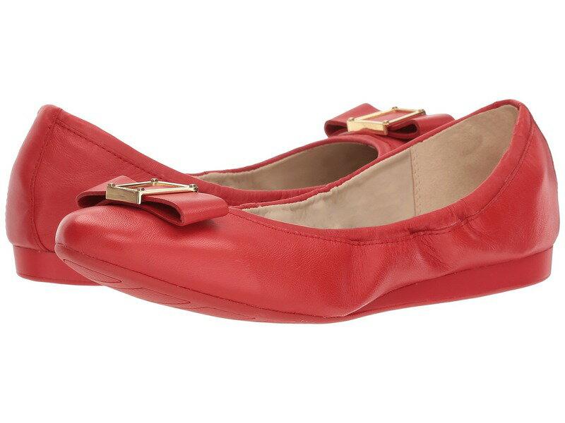 コールハーン レディース サンダル シューズ Emory Bow Ballet II Aura Orange Leather