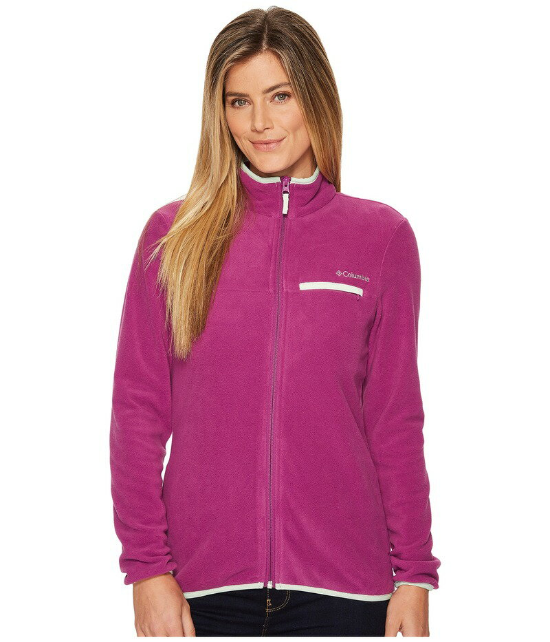 コロンビア レディース コート アウター Mountain Crest Full Zip Intense Violet/Ice Green