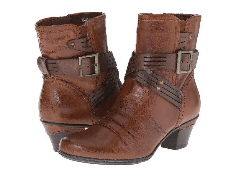 アース レディース ブーツ・レインブーツ シューズ Odyssey Almond Calf Leather