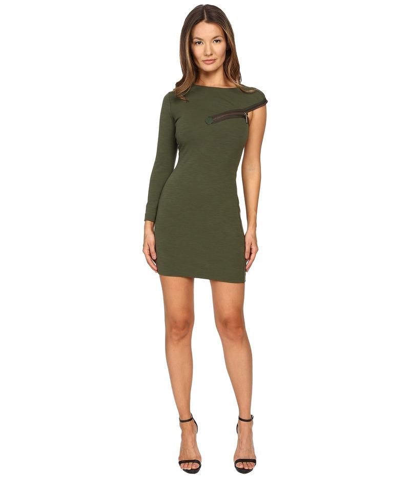 ディースクエアード レディース ワンピース トップス Wool Jersey Dress Green 2
