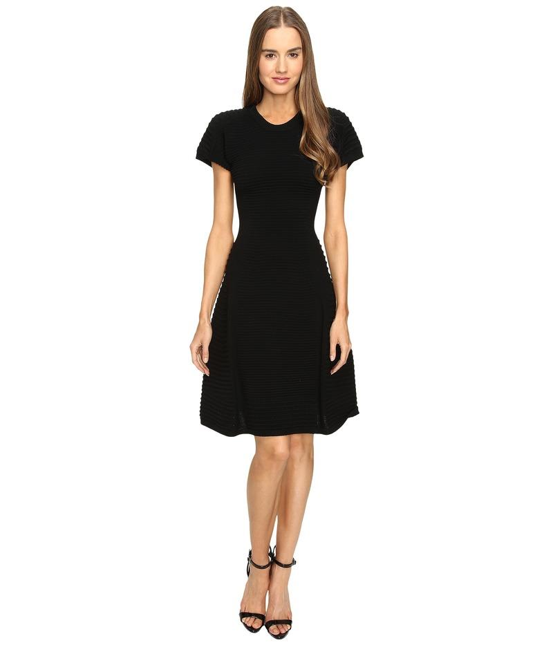 ディースクエアード レディース ワンピース トップス Short Sleeve A Line Dress Black