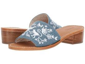 ソルドス レディース サンダル シューズ Otomi City Sandal Medium Denim