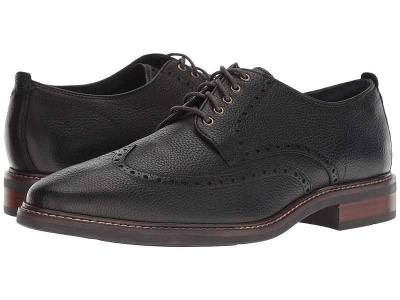 コールハーン メンズ オックスフォード シューズ Watson Casual Wingtip Oxford Black