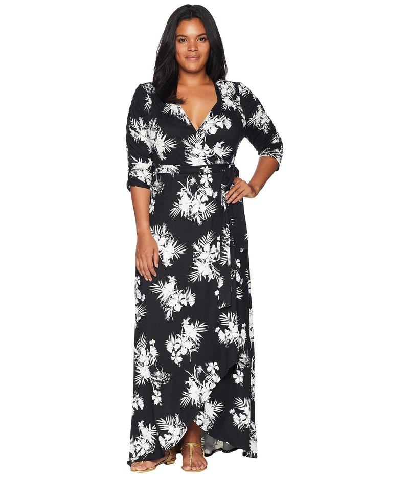キヨナ レディース ワンピース トップス Meadow Dream Maxi Dress Tropical Noir
