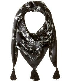 レベッカミンコフ レディース マフラー・ストール・スカーフ アクセサリー Celestial Silk Square Black