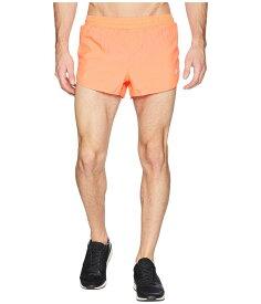 アシックス メンズ ハーフパンツ・ショーツ ボトムス Run Split Shorts Fiery Coral