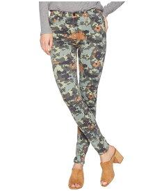 ハドソン レディース デニムパンツ ボトムス Barbara High-Rise Skinny Jeans in German Camo German Camo