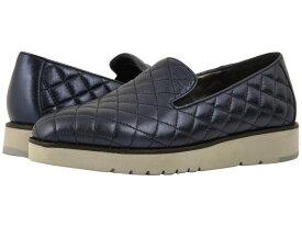 ジョンストンアンドマーフィー レディース スニーカー シューズ Portia Navy Italian Metallic Glove Leather