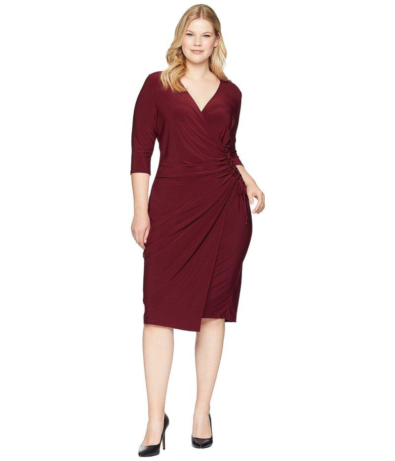 キヨナ レディース ワンピース トップス Vixen Cocktail Dress Pinot Noir