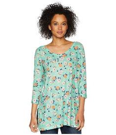 ナリーアンドミリー レディース シャツ トップス Mint Green Floral Print Tunic Multi