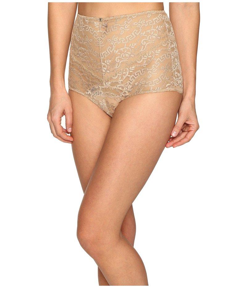 ヴェルサーチ レディース パンツ アンダーウェア Lace High Waisted Panty Nude