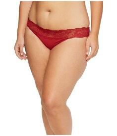 コサベラ レディース パンツ アンダーウェア Extended Size Never Say Never Bikini Brick Red