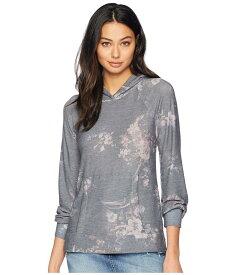チェイサー レディース パーカー・スウェット アウター Cozy Knit Blouson Sleeve Pullover Hoodie Floral Print