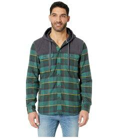 マーモット メンズ コート アウター Silos Heavyweight Flannel Long Sleeve Mallard Green/Dark Steel