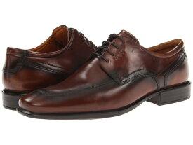 エコー メンズ オックスフォード シューズ Cairo Apron Toe Tie Walnut Oxford Leather