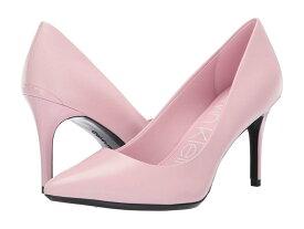 カルバンクライン レディース ヒール シューズ Gayle Pump Pastel Pink Leather