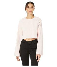 ジューシークチュール レディース パーカー・スウェット アウター Crop Wide Sleeve Pullover Pale Pink