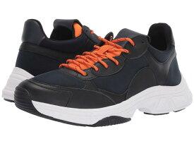 カルバンクライン メンズ スニーカー シューズ Daxtonn Navy/Black/Orange Peel Nappa Smooth Calf/Neoprene