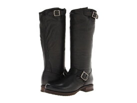 フライ レディース ブーツ・レインブーツ シューズ Veronica Slouch Black Soft Vintage Leather