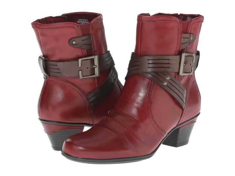 アース レディース ブーツ・レインブーツ シューズ Odyssey Bordeaux Calf Leather