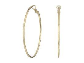ケネスジェイレーン レディース ピアス・イヤリング アクセサリー Small Gold Hoop Post Ear Earrings Gold